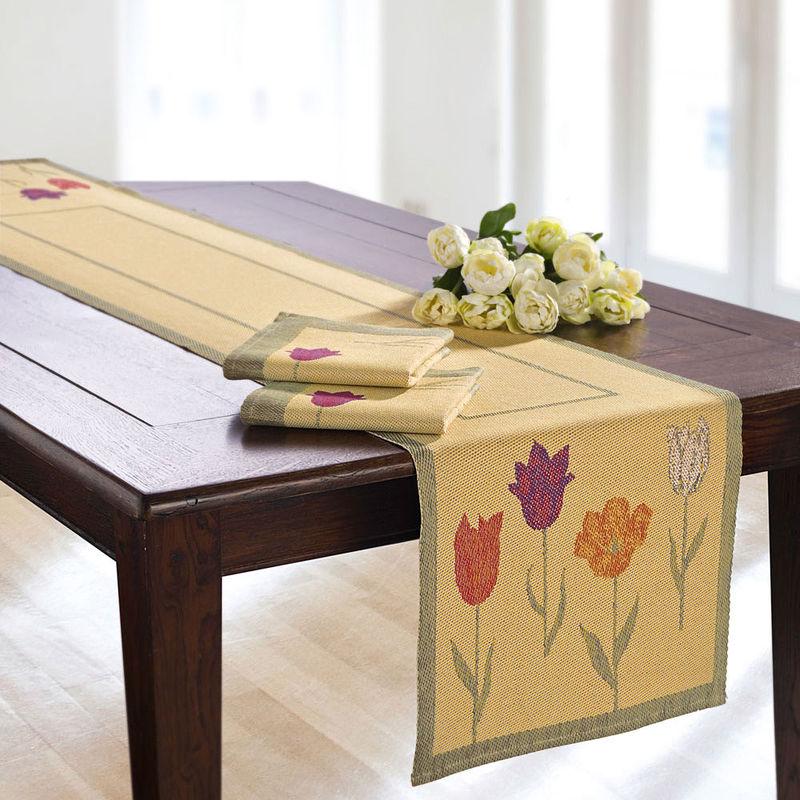 tischl ufer erfrischend sch ne fr hlings tischw sche aus. Black Bedroom Furniture Sets. Home Design Ideas