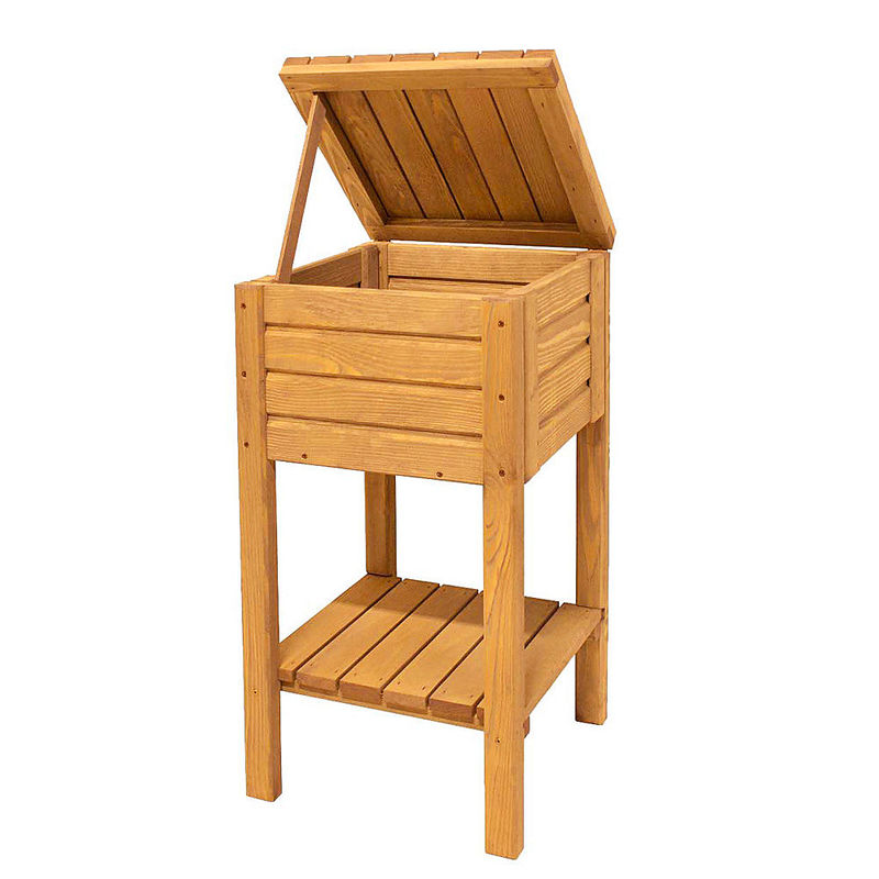 arbeits und aufbewahrungsbox mit deckel f r erntefrische kr uter und gem se hagen grote. Black Bedroom Furniture Sets. Home Design Ideas