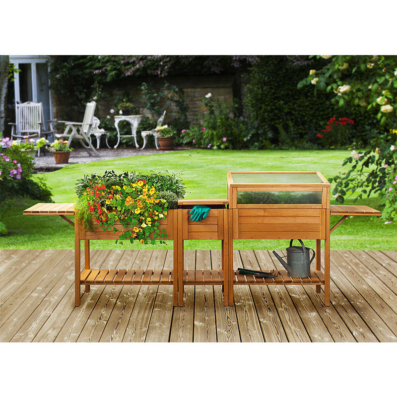 arbeits und aufbewahrungsbox mit deckel f r erntefrische. Black Bedroom Furniture Sets. Home Design Ideas