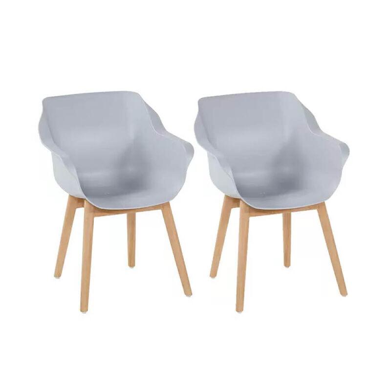 Stühle Material Outdoor wetterbeständigem Mix Moderne aus mNvOy8n0Pw