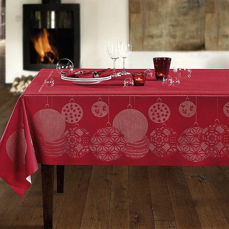 tischdecken feinste schwedische weihnachts tischw sche. Black Bedroom Furniture Sets. Home Design Ideas