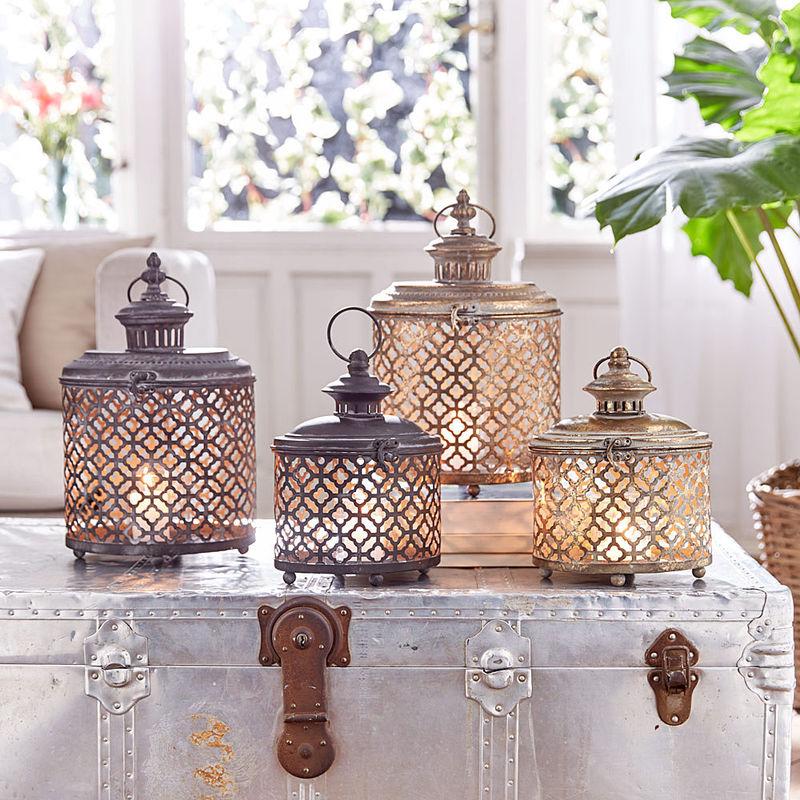 Kleine orientalisch anmutende windlichter zaubern for Bad orientalisch dekorieren