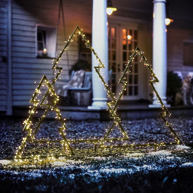 Leucht tannenbaum weihnachtliche led dekoration f r den garten julia grote sterreich shop - Tannenbaum dekoration ...