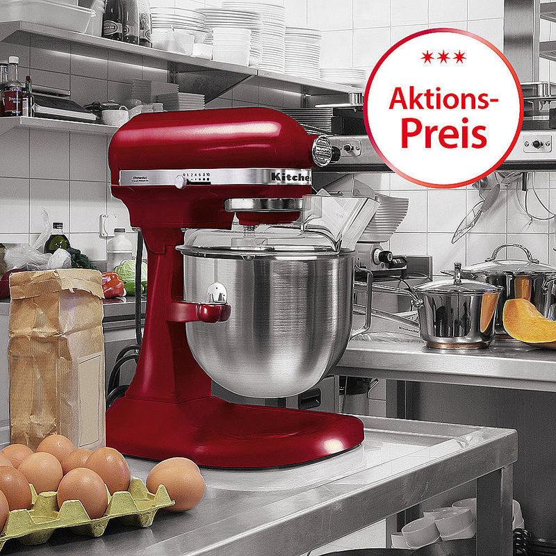 Aktion: KitchenAid Artisan Power Plus 1,3 PS mit gratis Zubehör Bild 2