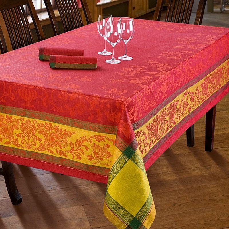 tischdecken au erordentliche leinen tischw sche aus russischer zarenzeit hagen grote sterreich. Black Bedroom Furniture Sets. Home Design Ideas
