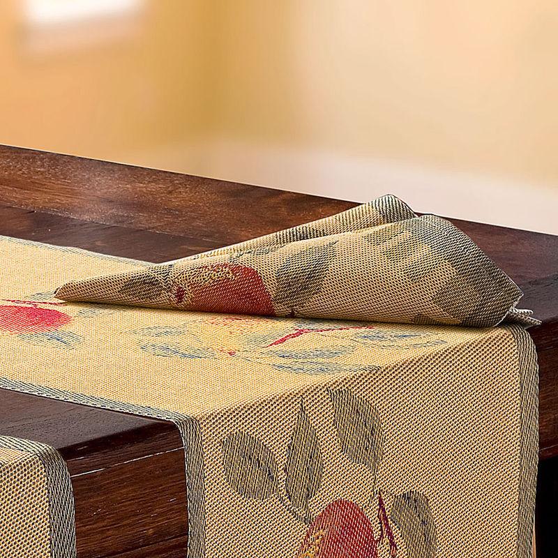 servietten k nigliche schwedische herbst tischw sche. Black Bedroom Furniture Sets. Home Design Ideas