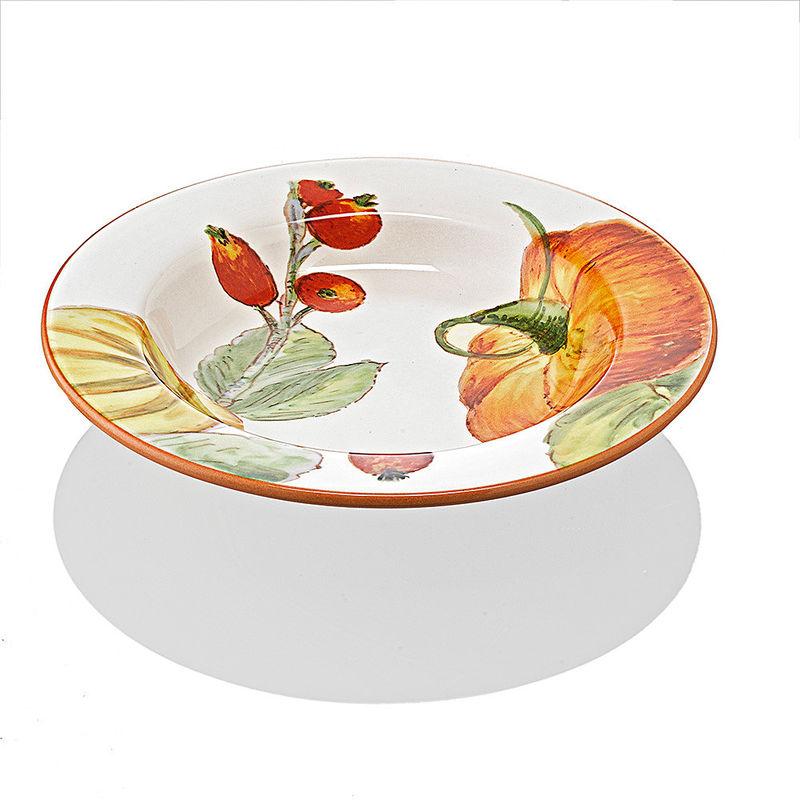 tiefe teller hochwertige italienische keramik mit. Black Bedroom Furniture Sets. Home Design Ideas