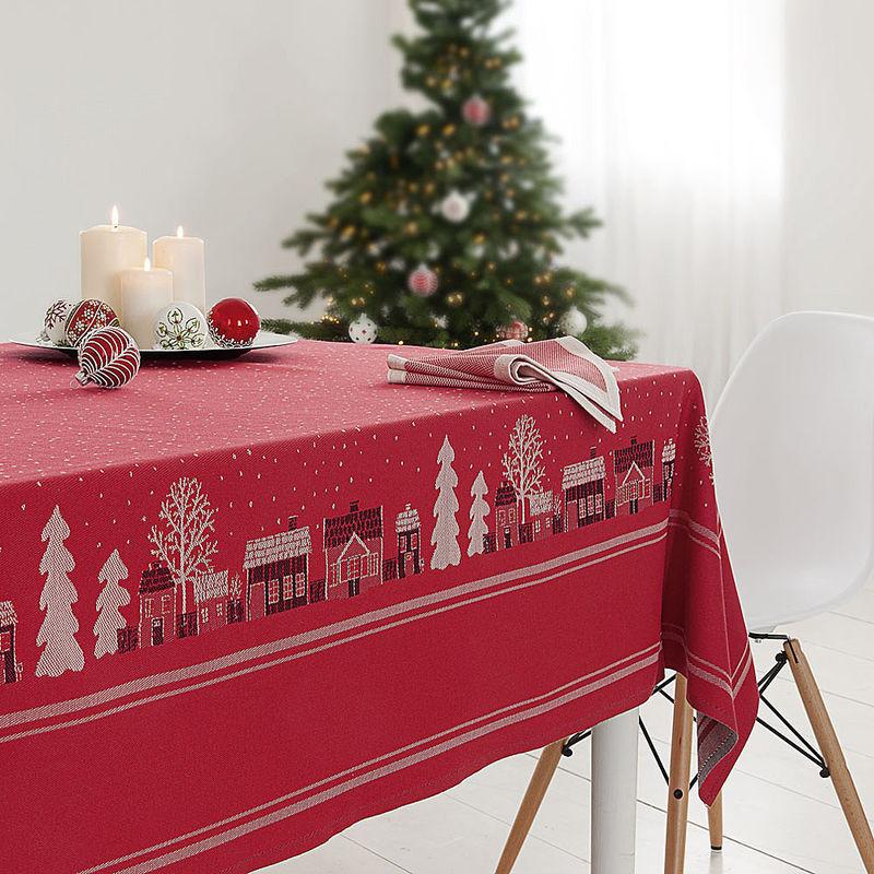 tischt cher schwedische winterm rchen tischw sche hagen. Black Bedroom Furniture Sets. Home Design Ideas