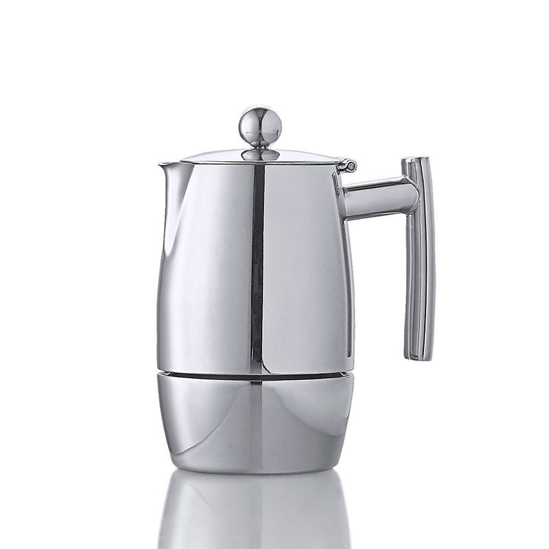 induktionsf higer edelstahl espressokocher f r original italienischen kaffeegenuss hagen grote. Black Bedroom Furniture Sets. Home Design Ideas