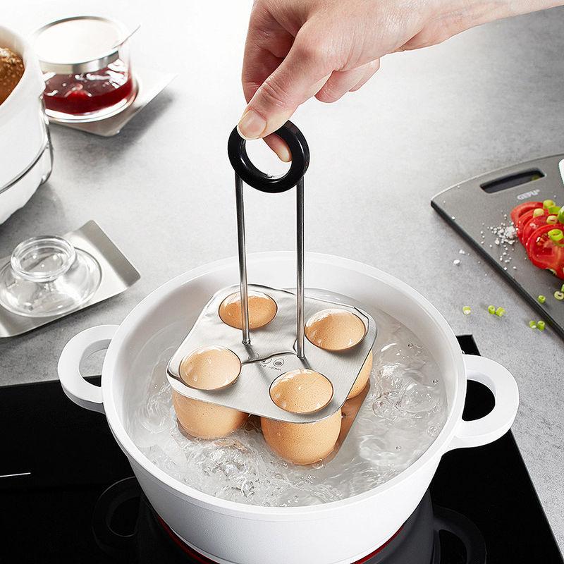 eierhalter 4 eier sicher kochen abschrecken servieren. Black Bedroom Furniture Sets. Home Design Ideas