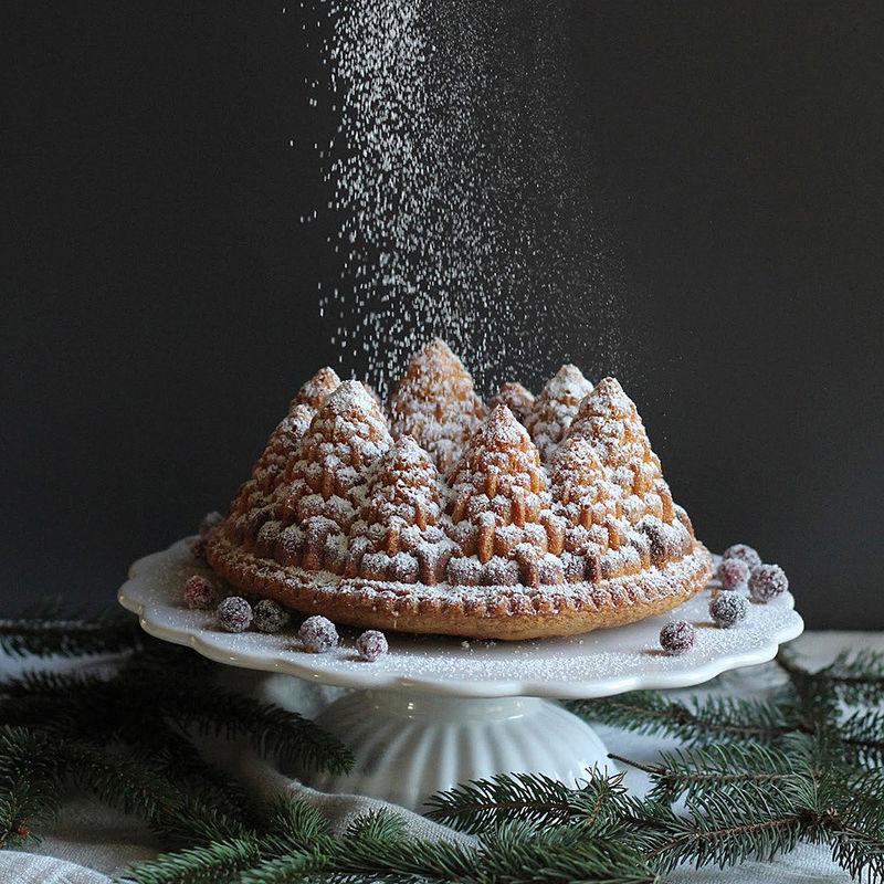 weihnachtlicher tannenbaum gugelhupf rezept hagen grote sterreich. Black Bedroom Furniture Sets. Home Design Ideas