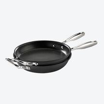 0058187cb5 Wendepfanne für beidseitig perfekte Omeletts, Frittatas, Tortillas,  Pfannkuchen