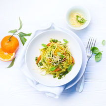 Mandarinen Linguine