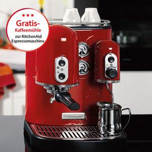 aktion kitchenaid espresso maschine artisan mit gratis kaffeem hle hagen grote sterreich. Black Bedroom Furniture Sets. Home Design Ideas