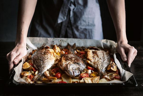 Fisch im Ofen garen